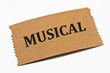 Musical Karte