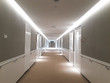 Hospital, construction, interior of hospital. corridor, the perspective of a hospital corridor, Abstract blur of beautiful luxury hospital and clinic interior for background