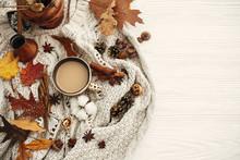Autumn Flat Lay, Cozy Inspirat...