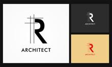 R Architect Vector Logo