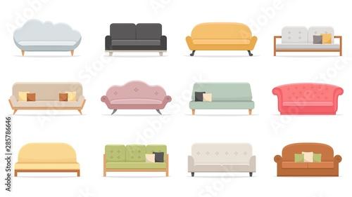 Comfortable sofas Fototapet