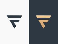 Letter F Logo Template Design Vector Illustration