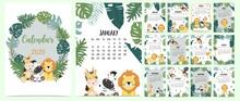 Doodle Animal Calendar Set 202...