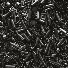 Different Size Bullet Shells O...