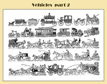 Vehicles And Transport End '80...