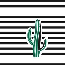 Creative Desert Poster/card Design. Vector Image.