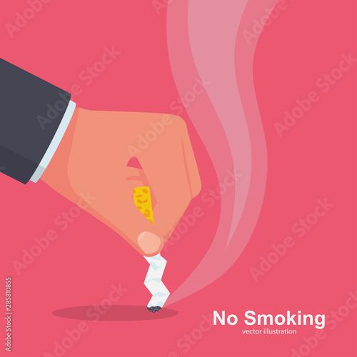 Valokuvatapetti No Smoking