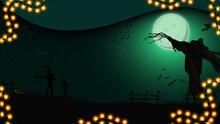 Halloween Night, Night Landsca...
