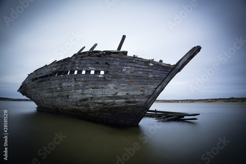 Eddie's boat Canvas Print