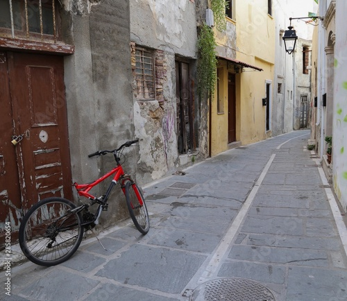 Fototapety, obrazy: bicycle on the street