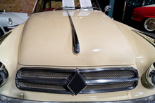 Radiator Grill Of White Vintag...