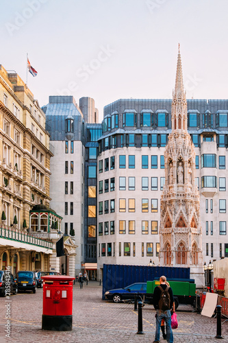 Платно Charing Cross Station on Strand in City of Westminster London
