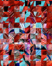 Abstract Design With Art And T...