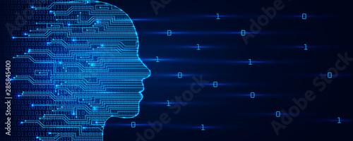 Fotografía Artificial intelligence concept