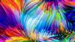 Leinwandbild Motiv Color lines in motion.