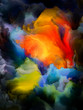 canvas print picture - Abstract Colorful Composition