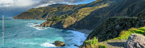 Photo sur Aluminium Cote Panorama of Big Sur Coast and Pacific Ocean