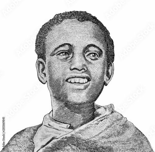 Papel de parede  Young Ethiopian