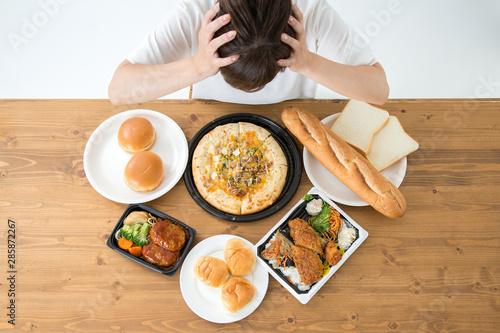 Fotografiet 食べる女性