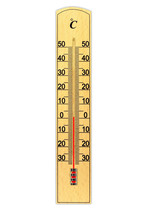 Wooden Celsius Scale Thermomet...