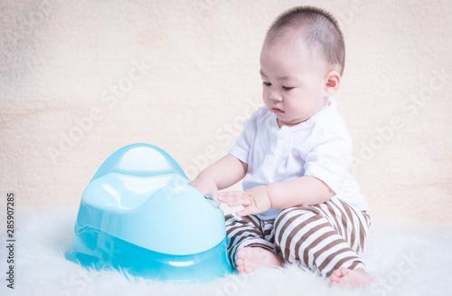 Photo Baby Children's sitting chamber pot