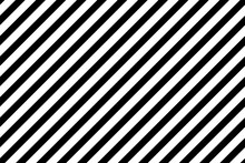 Thick Left Diagonal Lines. Stripe Texture Background. Seamless Vector Pattern