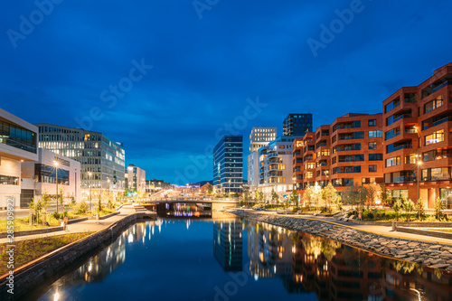 Oslo, Norway Canvas Print