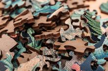 Puzzle, Puzzleteile, Panorama,...