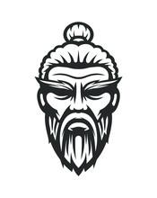 Sensei Logo. Old Master Kung Fu