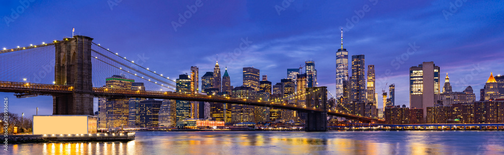 Fototapeta Brooklyn bridge New York