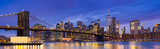 Fototapeta New York - Brooklyn bridge New York
