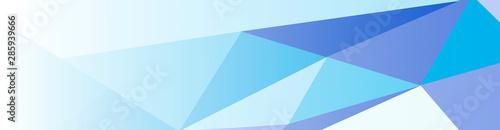 Valokuva blue Abstract Geometric Background