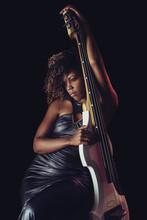 Sensual Musician. African Girl...