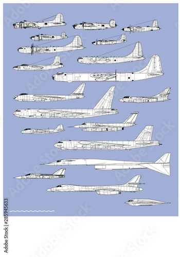 Foto History of american bombers