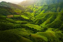 Aerial View. High Mountain Vie...