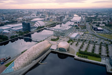 Aerial View Of Glasgow Science...