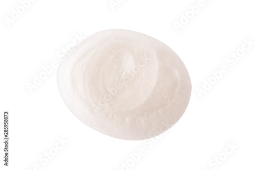 Fotomural Pearl Cosmetic cream in abstract shape on background