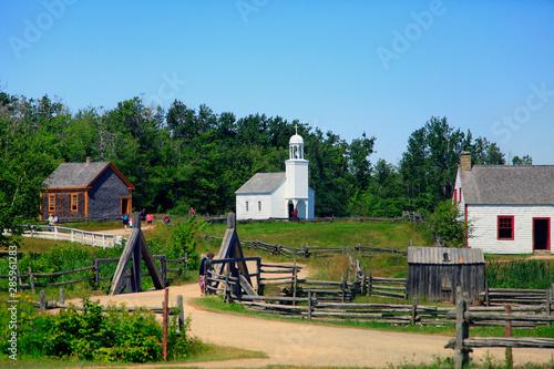 Photo église du village historique acadien