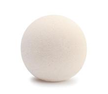 Bath Salt Bomb Isolated On White