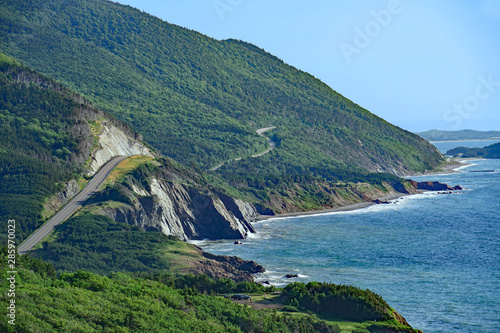 Photographie Cabot Trail, Cape Breton Island, beneath French Mountain
