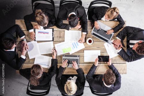 Obraz Business executives at meeting - fototapety do salonu