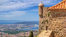 Summer Mediterranean Landscape...