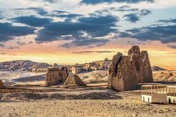 Ruins near Hatshepsut temple