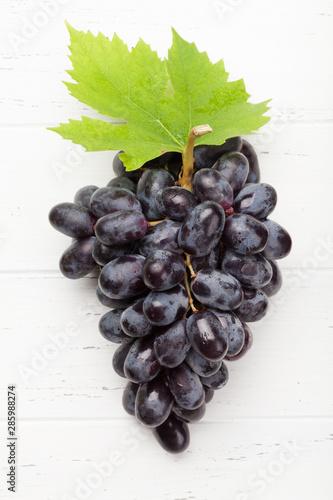 Obraz na plátně Red grapes