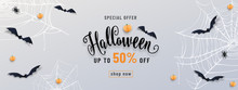 Halloween Sale Banner, Party I...