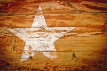Wood Grain Star Paint Grained Texture