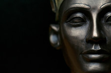 Close Up Of Ancient Egypt Queen Nefertiti, Shallow Depth Of Field