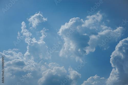 Türaufkleber Darknightsky Cloudy sky