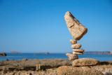 Fototapeta Kamienie - Summer balance