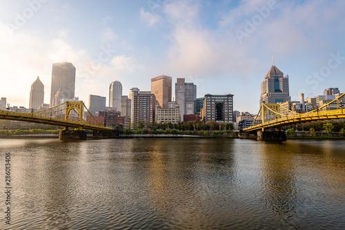 Vistas of Pittsburgh, Pennsylvania Wallpaper Mural